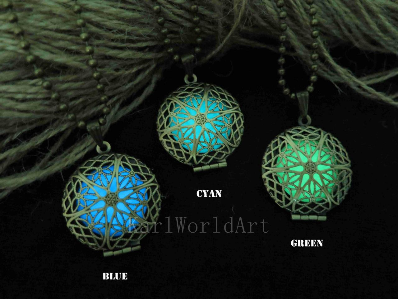 Free Shipping Glow in the dark necklace,glow pendant necklace,Halloween jewelry