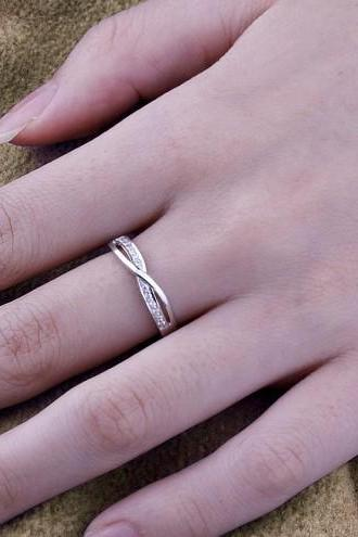 infinity promise ring, Sterling silver Ring, Custom Engraved Ring, Sister Rings, Promise Ring, Best Friend Rings, promise ring for her